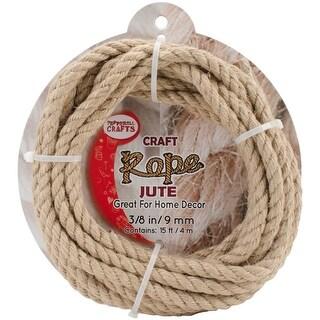 Jute Craft Rope .375X15'-Natural