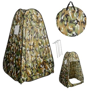 Costway Portable Pop UP Fishing & Bathing Toilet Changing Tent Camping Room Camouflage