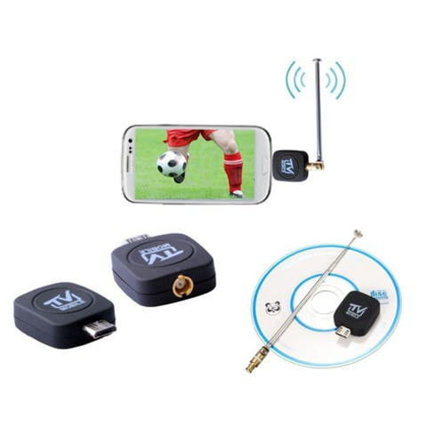 USB Tuner Mobile TV Receiver DVB-T Stick For Android Tablet Phone