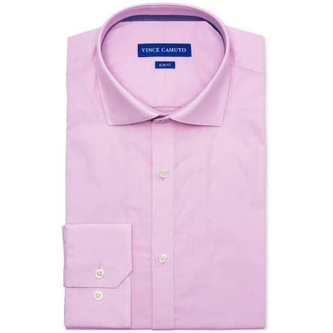 Vince Camuto Mens Slim Fit Button Up Dress Shirt