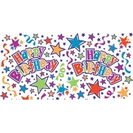 "Birthday Stars - Printed Gift Wrap 5'X30"" Roll"