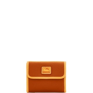 Dooney & Bourke Patterson Leather Small Flap Credit Card Wallet (Introduced by Dooney & Bourke at $98 in Oct 2017)