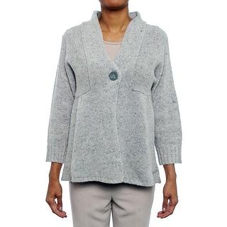 Woolrich Mountainside Cardigan Women Regular Wool Blend Sweater