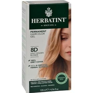 Herbatint - Permanent Herbal Haircolour Gel 8D - Light Golden Blonde ( 1 - CT)