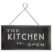 PTM Images 207246 The Kitchen is Open Sign - N/A