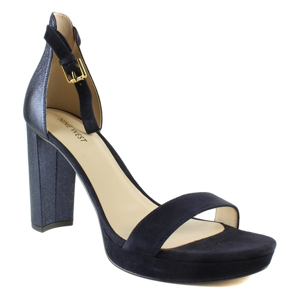 58b2beed4b3 Shop New Nine West Womens Jritkn008070m Black Strappy Heels Size 9.5 ...