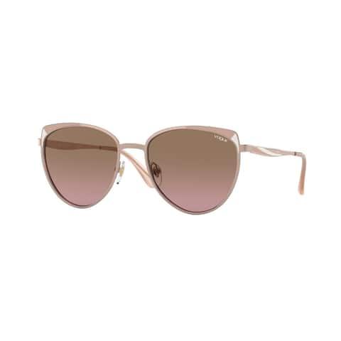 Vogue VO4151S 507514 53 Rose Gold/matte Pink White Woman Phantos Sunglasses
