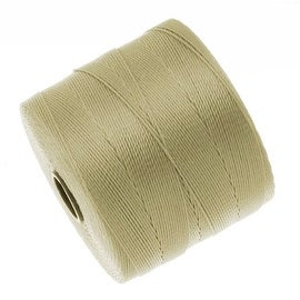BeadSmith Super-Lon (S-Lon) Micro Macrame Twisted Nylon Cord - Lark Brown / 287 Yard Spool