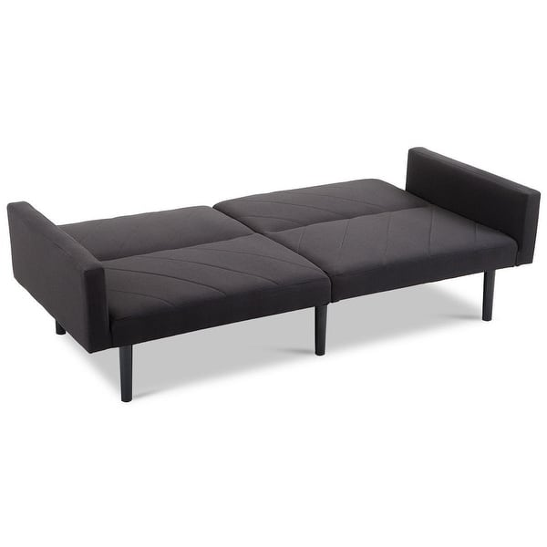 Costway Futon Sofa Bed Convertible Recliner Couch