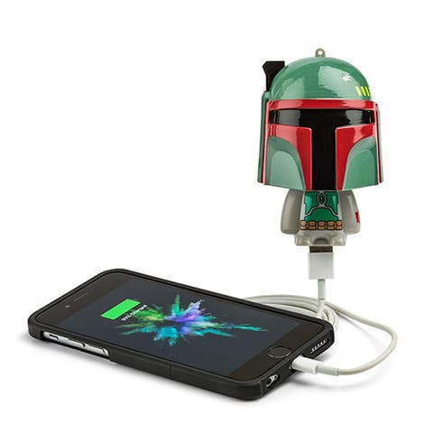 Star Wars Mighty Minis Micro Boost USB Charger: Boba Fett - Multi