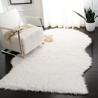 Link to Safavieh Faux Sheep Skin Shona Shag Solid Rug Similar Items in Shag Rugs