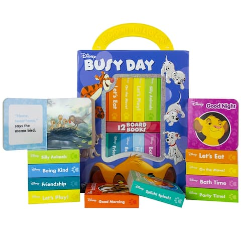 (2 St) Disney Classic Busy Day My First Library
