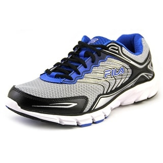 Fila Memory Maranello 4 Men Round Toe Synthetic Silver Running Shoe