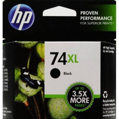 HP 74XL Original Ink Cartridge CB336WN - Black