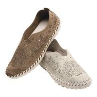 Bernie Mev Women's Shoes - Pop-Art Cut-Out Step-Ins