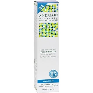 Andalou Naturals - Clarifying Aloe Plus Willow Bark Pore Minimizer ( 1 - 6 OZ)