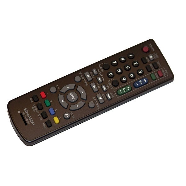 NEW OEM Sharp Remote Control Specifically For: BDHP52U, BD-HP52U, BDHP22U, BD-HP22U