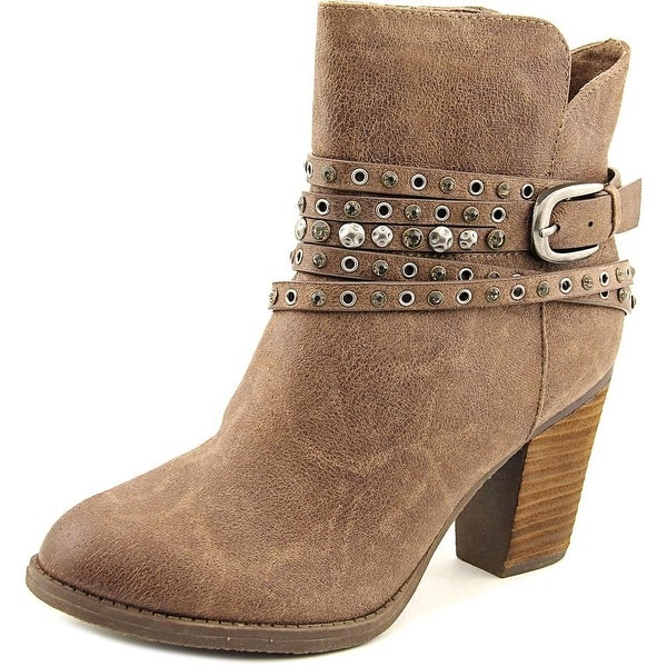 Not Rated Alpha Women Round Toe Synthetic Ankle Boot