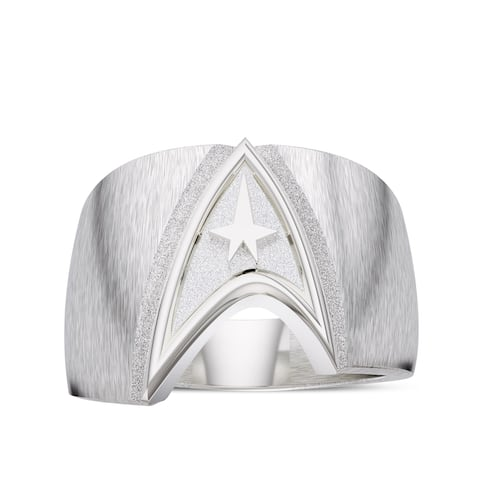 Star Trek Logo Ring