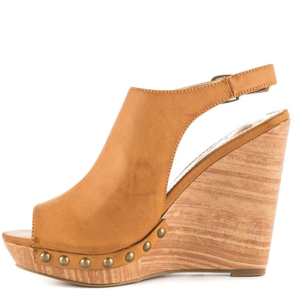 Unlisted Womens See It First Open Toe Special Occasion Platform Sandals