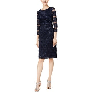 Jessica Howard Womens Party Dress Lace Special Occasion