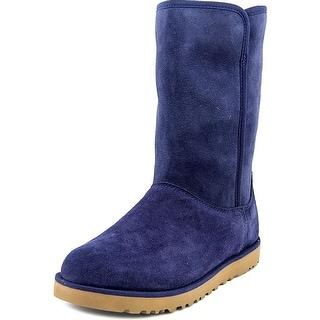 Ugg Australia Michelle Women Round Toe Suede Blue Winter Boot