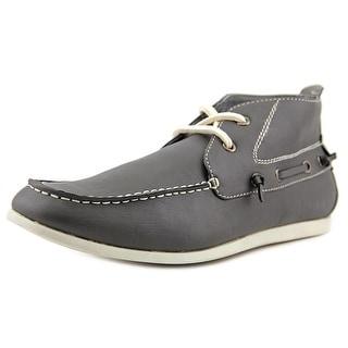 Madden Men groto2 Moc Toe Leather Boat Shoe