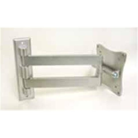 Master Mounts 93136 LCD 202 Double Pivoting Mount - Silver
