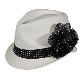 Womens Flower Brim Fedora|https://ak1.ostkcdn.com/images/products/is/images/direct/49a451b0f44ab7150d5f6a5fa50493a8c5665781/Womens-Flower-Brim-Fedora.jpg?impolicy=medium