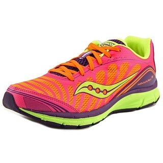 Saucony Progrid Kinvara 3 Women  Round Toe Synthetic Pink Running Shoe