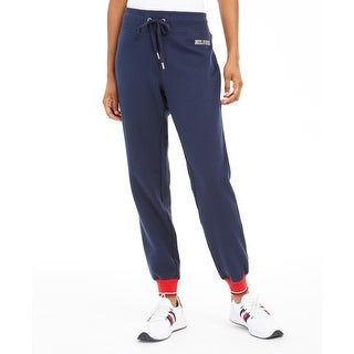 Link to Tommy Hilfiger Womens Sweatpants Jogger Fitness - Navy - XL Similar Items in Athletic Clothing