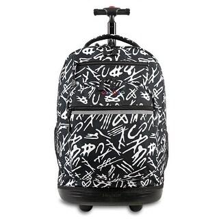 J World New York Sundance Rolling Backpack, Script