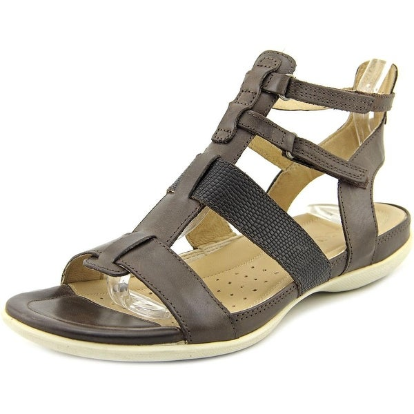 Ecco Flash Hurache Coffee Sandals