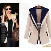 Womens Fashion Winter Spring Warm Coat Cardigan Jacket +Gift Necklace