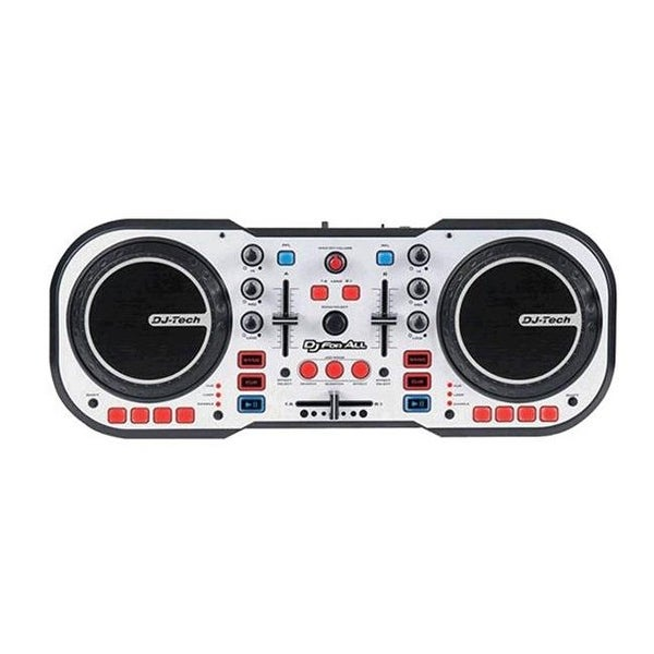 DJ Controller with Soundcard and Deckadance LE Software