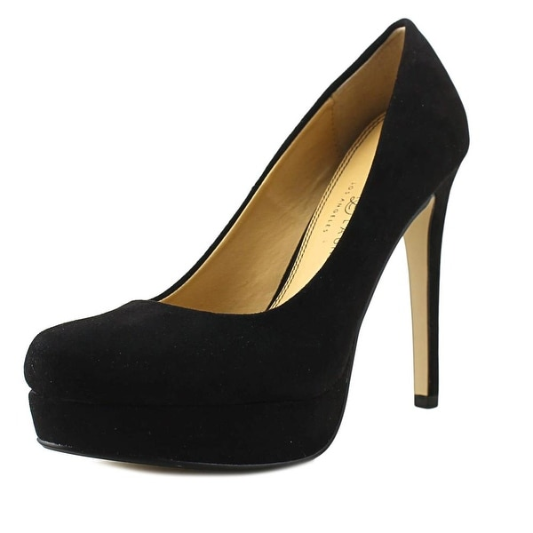 Chinese Laundry Wow Women Open Toe Synthetic Black Platform Heel