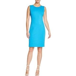 T Tahari Womens Pria Casual Dress Sleeveless Sheath