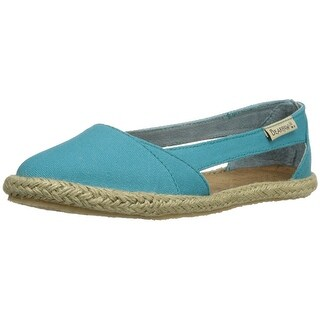 Bearpaw Womens Danica Canvas Round Toe Loafers
