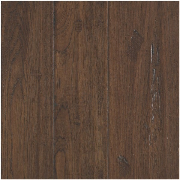 Mohawk Industries BCK19-HIC Varying Width Engineered Hardwood Flooring - Handscraped Hickory Appearance- Sold by Carton (35.91