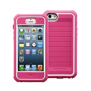 Body Glove Shocksuit Series Case for Apple iPhone 5 / 5S (Raspberry/White)