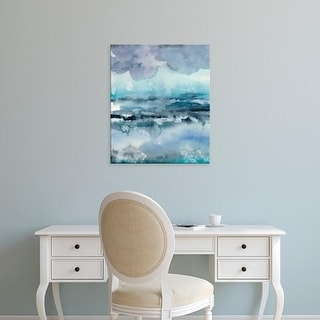 Easy Art Prints Chariklia Zarris's 'Blue Tide I' Premium Canvas Art