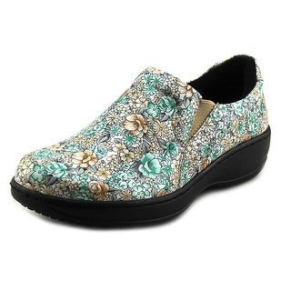 Spring Step Pro Winfrey Women Round Toe Leather Multi Color Work Shoe