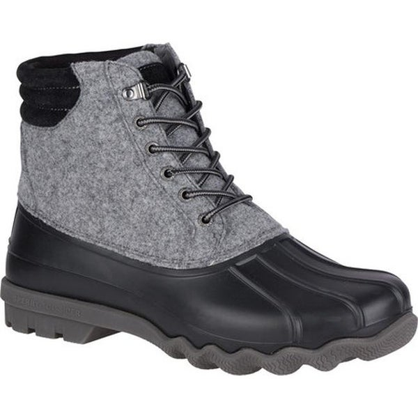 Avenue Duck Boot Grey Wool/Leather