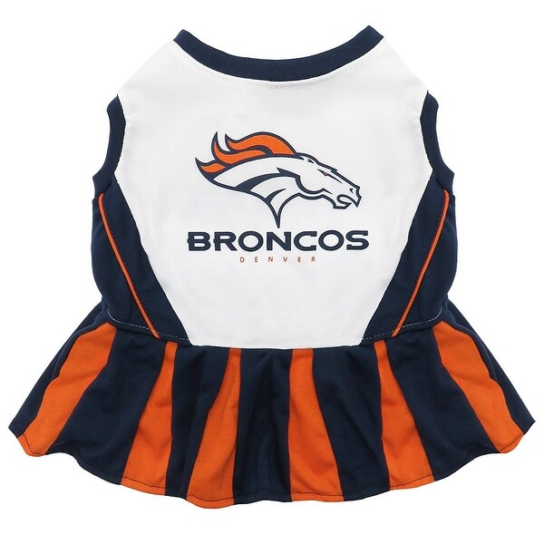 Shop NFL Denver Broncos Cheerleader Dress For Dogs And Cats - On ... fcf4c83bc
