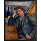 Easy Art Prints Paul Cezanne's 'Smoker' Premium Canvas Art