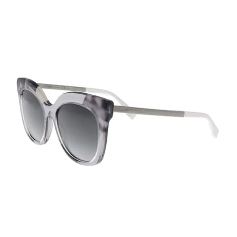 13a7b73627f9 FENDI FF 0179 S 027Q Grey Square Sunglasses - No Size