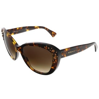 Versace VE4309B 514813 Havana Butterfly sunglasses