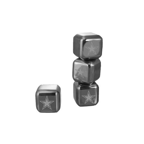 Dallas Cowboys Stainless Steel Ice Cube Set