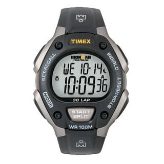 Timex Triathlon 30 lap FullSize Black/Silver Triathlon 30 Lap MidSize https://ak1.ostkcdn.com/images/products/is/images/direct/49afd2bcca700d3dd34c25d4ed56afc432f82b84/Timex-Triathlon-30-lap-FullSize-Black-Silver-Triathlon-30-Lap-MidSize.jpg?impolicy=medium