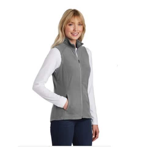Port Authority Womens Microfleece Athletic Fleece Vest, Colors Galore